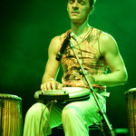 """""""Kir Shajak, Flashing Drums & Music"""" • Yngo Gutmann in Concert • Werk II Leipzig 2010"""