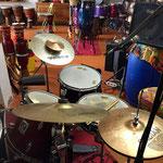 Blick von den Drums