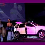 Rainbowdrums -  Show bei Porsche