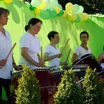 Die Daikogruppe  Foto: Bettina Lewerken