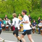 Rainbowdrums bei einem Marathon