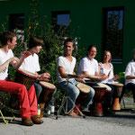 Beim Hoffest - Foto: Bettina Lewerken