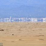 Miratge al desert de la punta del fangar