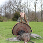 Maddison Frakes with Missouri Bird.