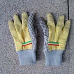 evtl. Handschuhe