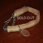 HC 003 真田紐 ( 地色 茶 ) ¥3200  sold out
