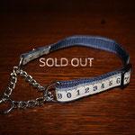 HC024a ブルーメジャー ( 地色 ネイビー ) ¥3200  sold out