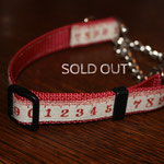 HC024b レッドメジャー ( 地色 赤 ) ¥3200  sold out