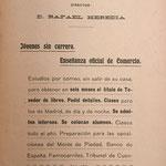 Datos sobre la Escuela Práctica de Comercio contenido en el libro Calculador Comercial
