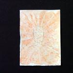ca.11x18cm. Bleistift, Tinte,  auf Papier.  2008