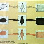"""""""Trilogía"""""""" Trilogie ca.30x40cm. Bleistift, Tinte, Fineliner auf Papier.  2008"""