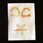 ca.11x18cm. Bleistift, Tinte auf Papier.  2008