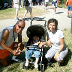Nick Bollettieri scoutet meinen Sohn in Miami ;-)