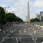 Tennis-Promotion in meiner Heimat Buenos Aires