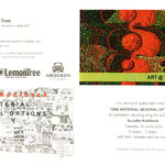 Einladung zur Ausstellung : One material several options / art quilts and poems