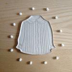 アンティークブラウス:大 約19.5cm×20.5cm×1cm   小 約15.5cm×14.5cm ×1cm