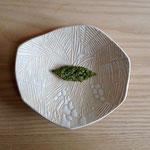 椰子のお皿 約16×15cm
