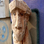 "Serie ""Stadtgesichter"", Birnbaum, 60 cm"