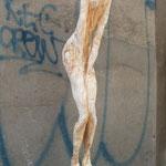 Drei Wünsche, Weide, 107 cm mit Sockel