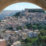 Blick auf Ragusa Ibla