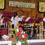 Das erste Konzert auf der großen Bühne war ein voller Erfolg.