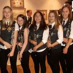Unsere Klarinetten des Jugendorchesters vorm Konzert 2017.