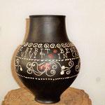 Spruchbecher da. 4 Liter, 3.Jh. n. Chr., Fundort u.a. Gellep, Orginal u.a. im Museumszentrum Burg Linn
