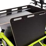 Riese und Müller Lasten e-Bike, e-Cargobike Load Zubehör und Ausstattungsoptionen Seitenklappen für Stauraum