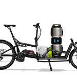 Riese und Müller Lasten e-Bike, e-Cargobike Load Zubehör und Ausstattungsoptionen mit viel Stauraum