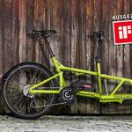 Riese und Müller Lasten e-Bike, e-Cargobike Load Zubehör und Ausstattungsoptionen Testsieger