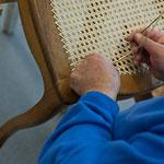 Stuhlflechterei, Stuhlreparaturen