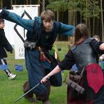 Kampfform: Die Schwalbe! Mirakulös ausgeführt von Tom.