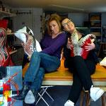 Sonia et Myr à l'Atelier
