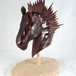 馬のスカルプチャー