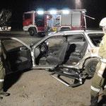 Ordnungsgemäßer Zugang für Rettungsmannschaften bei eingklemmten Personen.