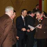 Josef Hobl - 40 Jahre Feuerwehrdienst