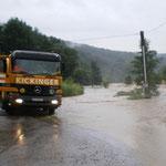 Verlässlicher Partner bei lang andauernden Hochwassereinsätzen.