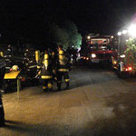 Zahlreiche Feuerwehrmitglieder übten in Michelbach.