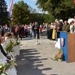 Die Festansprachen nach der Heiligen Messe.