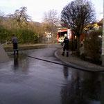 Der Kreuzungsbereich beim GH Prunnbauer.