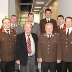 Gruppenfoto des Kommandos mit den Partnerorganisationen.