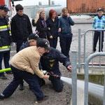 Das Handwerk der Feuerwehr: Löschübung