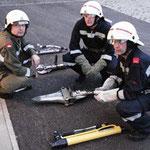 Erklärung des hydraulischen Rettungsgerät.