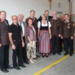 Hohe Auszeichnung für BGM a.D. Rudolf Kickinger (3. von links)