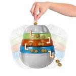 Treat Tower-  een interactief traktatiespeeltje waar tijdens het spelen de brokjes willekeurig uit vallen.