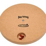 Dog Spinny - Verstop versnaperingen in de holtes onder de roterende schijf.