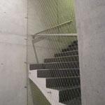 Treppenhausabschluss mit Webnet