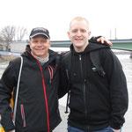 mit Daniel am Rhein
