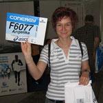 Meiner erste Startnummer - zu meinem ersten Marathon - man wie stolz :-)