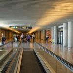 Malle Flughafen - man läuft und läuft und läuft :-)